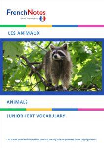 French Vocabulary - Animals