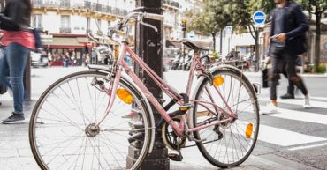 Bicycle in Paris