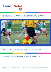 Inequality in sport
