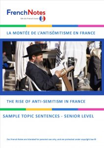 Rise of anti-semitism in France