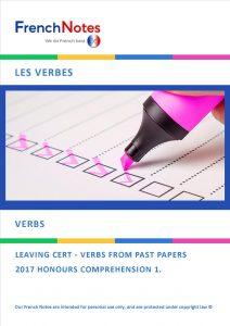 Leaving Cert French Verbs