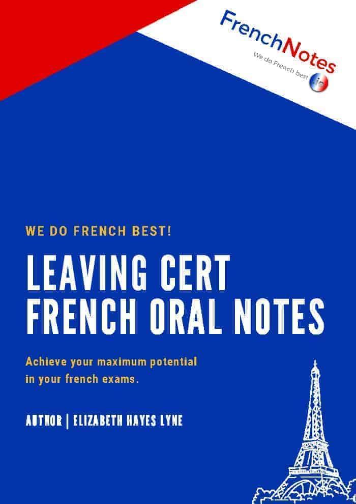 leaving cert french oral notes booklet french notes. Black Bedroom Furniture Sets. Home Design Ideas
