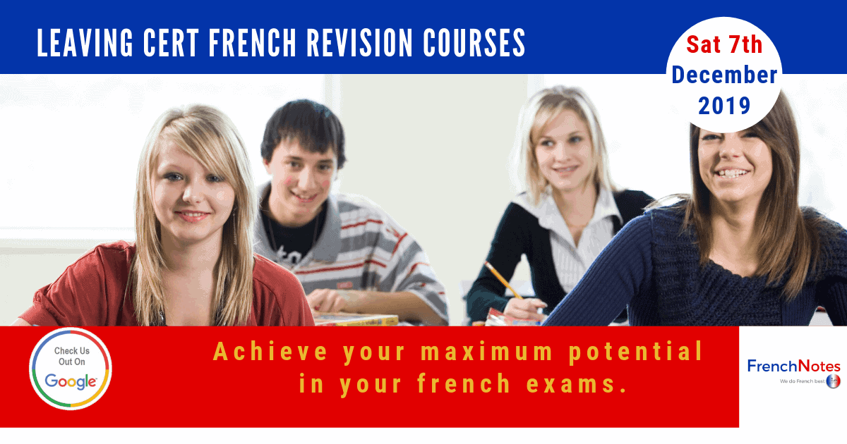 French Leaving Cert Revision Course